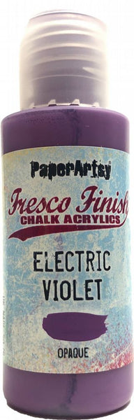 PaperArtsy, Fresco Finish Chalk Acrylics Paint - Electric Violet {Tracy Scott}