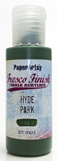 PaperArtsy, Fresco Finish Chalk Acrylics Paint - Hyde Park (Semi-Opaque)