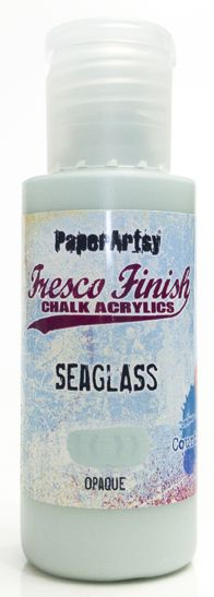 PaperArtsy, Fresco Finish Chalk Acrylics Paint - Sea Glass (Opaque)