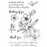 "49 & Market, Clear Stamps 4""X6"", Gabi's Hibiscus - Scrapbooking Fairies"