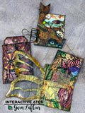Gwen Lafleur Interactive ATCs, Facebook Live Online Mixed Media Workshop (On Demand)