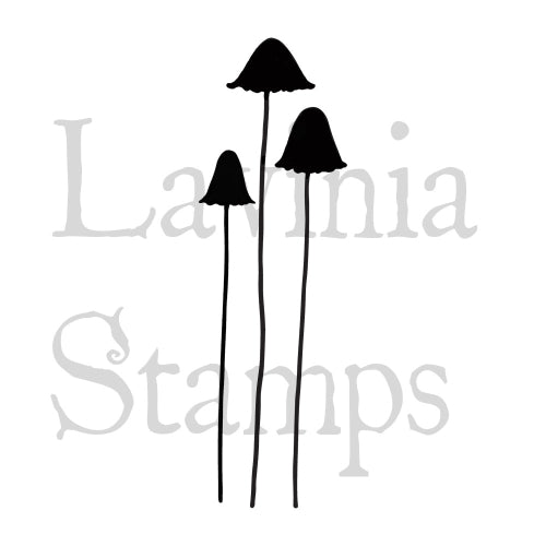 Lavinia Stamps, Quirky Mushrooms (LAV413), Clear Stamp