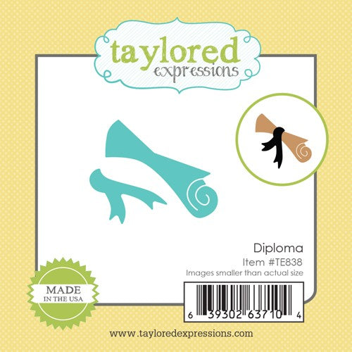 Taylored Expressions, Little Bits - Diploma, Thinlits Dies - Scrapbooking Fairies