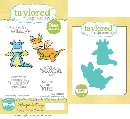 Taylored Expressions, Magical Day Stamp & Die Combo - Scrapbooking Fairies