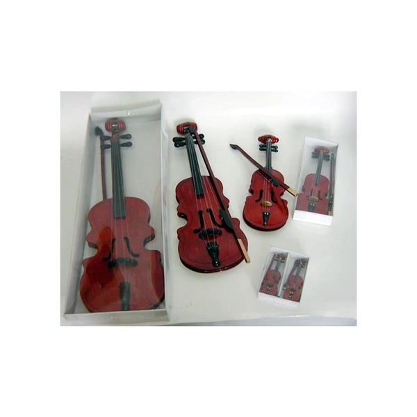 5 inch Wood Violin with Bow