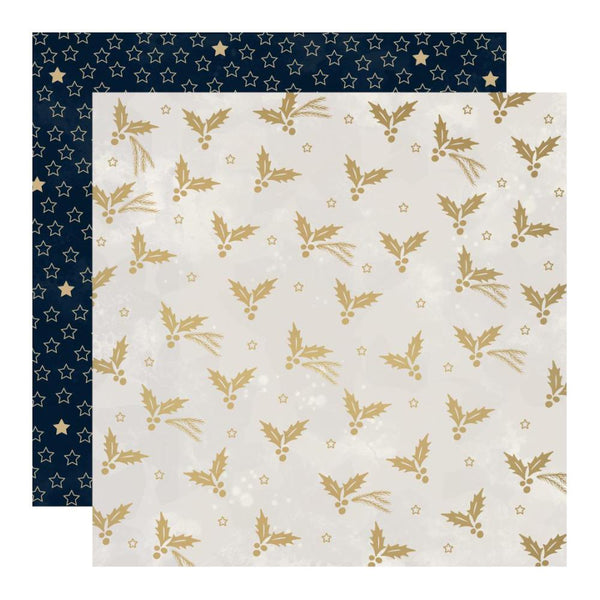 "Starry Night Double-Sided Cardstock 12""X12"", Modern"