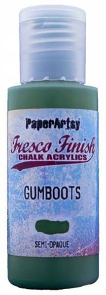 PaperArtsy, Fresco Finish Chalk Acrylics Paint - Gumboots