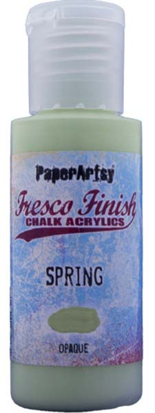 PaperArtsy, Fresco Finish Chalk Acrylics Paint - Spring (Opaque)