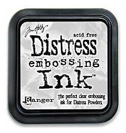 Ranger,  Tim Holtz Distress Clear Embossing Ink Pad