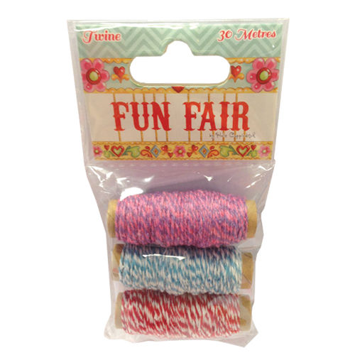 Helz Cuppleditch, Fun Fair, Twine - Scrapbooking Fairies