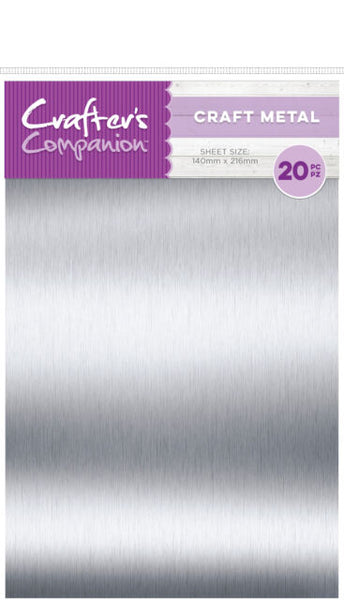 Crafter's Companion Craft Material Pack, 20/Pkg, Thin Metal Sheets