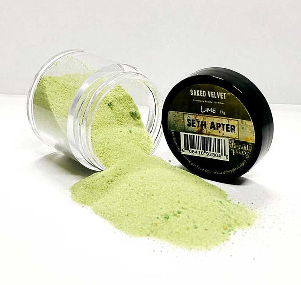 Emerald Creek, Seth Apter, Baked Texture Embossing Powder - Lime