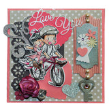 Dreamerland Crafts, Bicycle Fun, Rubber Stamps - Scrapbooking Fairies