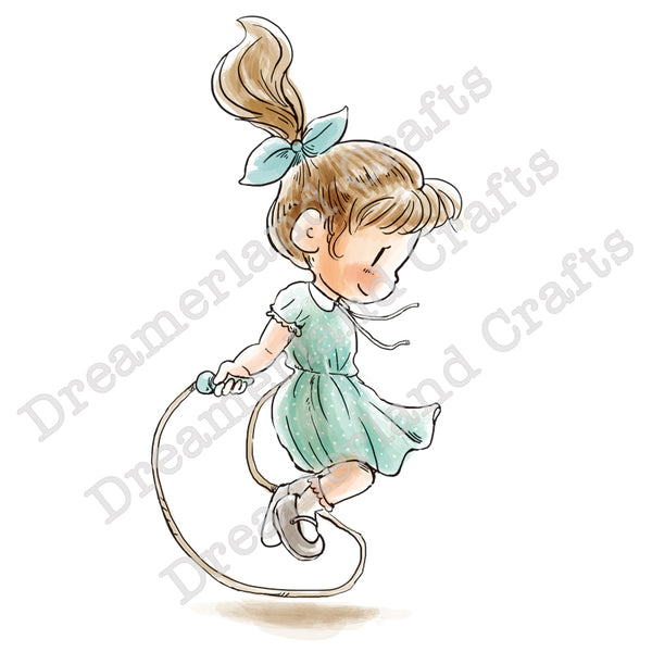 Dreamerland Crafts, Jump Rope Workout, Rubber Stamps - Scrapbooking Fairies