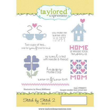 Taylored Expressions, Stitch by Stitch 2 - Scrapbooking Fairies