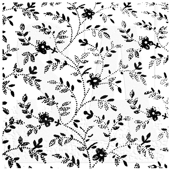 Studio 490 Wendy Vecchi Background Cling Stamp, Faded Floral