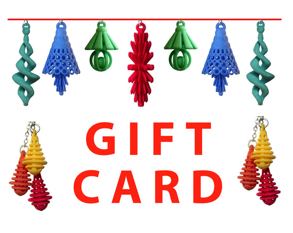 Atomic Earrings Gift Card