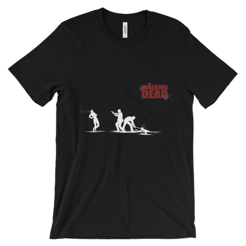 The Walking Dead In The Street T-Shirt (Black)
