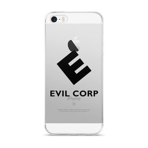Evil Corp Mr Robot iPhone 5/5s/Se, 6/6s, 6/6s Plus Case
