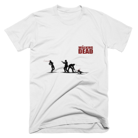 The Walking Dead In The Street T-Shirt (White)