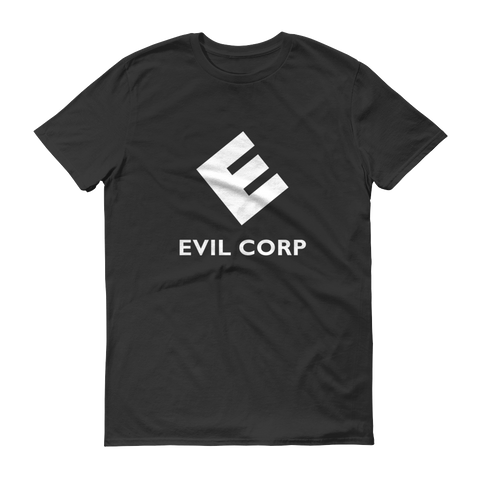 Evil Corp Give A Man A Bank Mr Robot T-Shirt