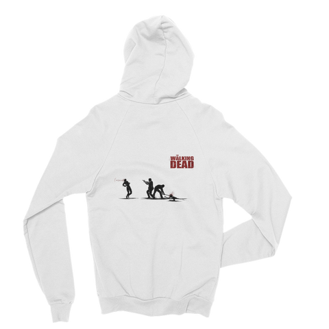 The Walking Dead In The Street Hoodie (White)