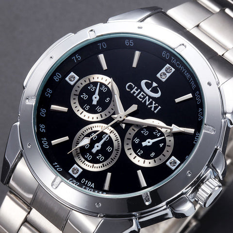 CHENXI Mens Wristwatch - Worlds Colliding