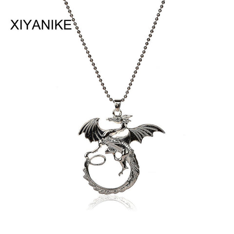 Game of Thrones Sterling Silver Targaryen Pendant