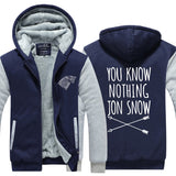 Game Of Thrones You Know Nothing John Snow Hoodie