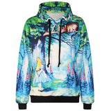 Art Print Pullover Hoodies, Many Patterns Available - Worlds Colliding