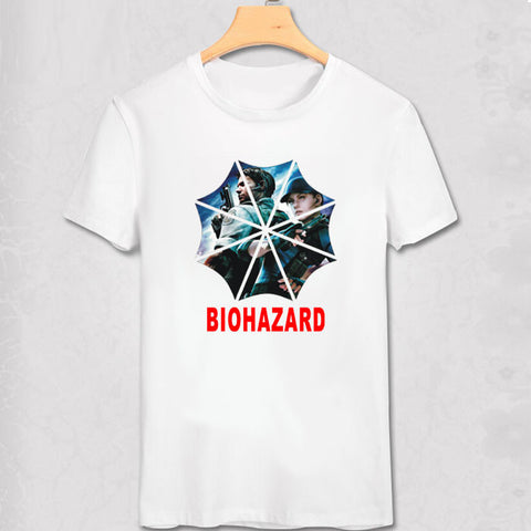 Resident Evil Umbrella Corporation Logo Biohazard Shirt