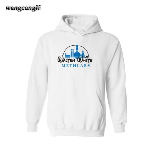 Breaking Bad Walter White Disneylab Logo Hoodie