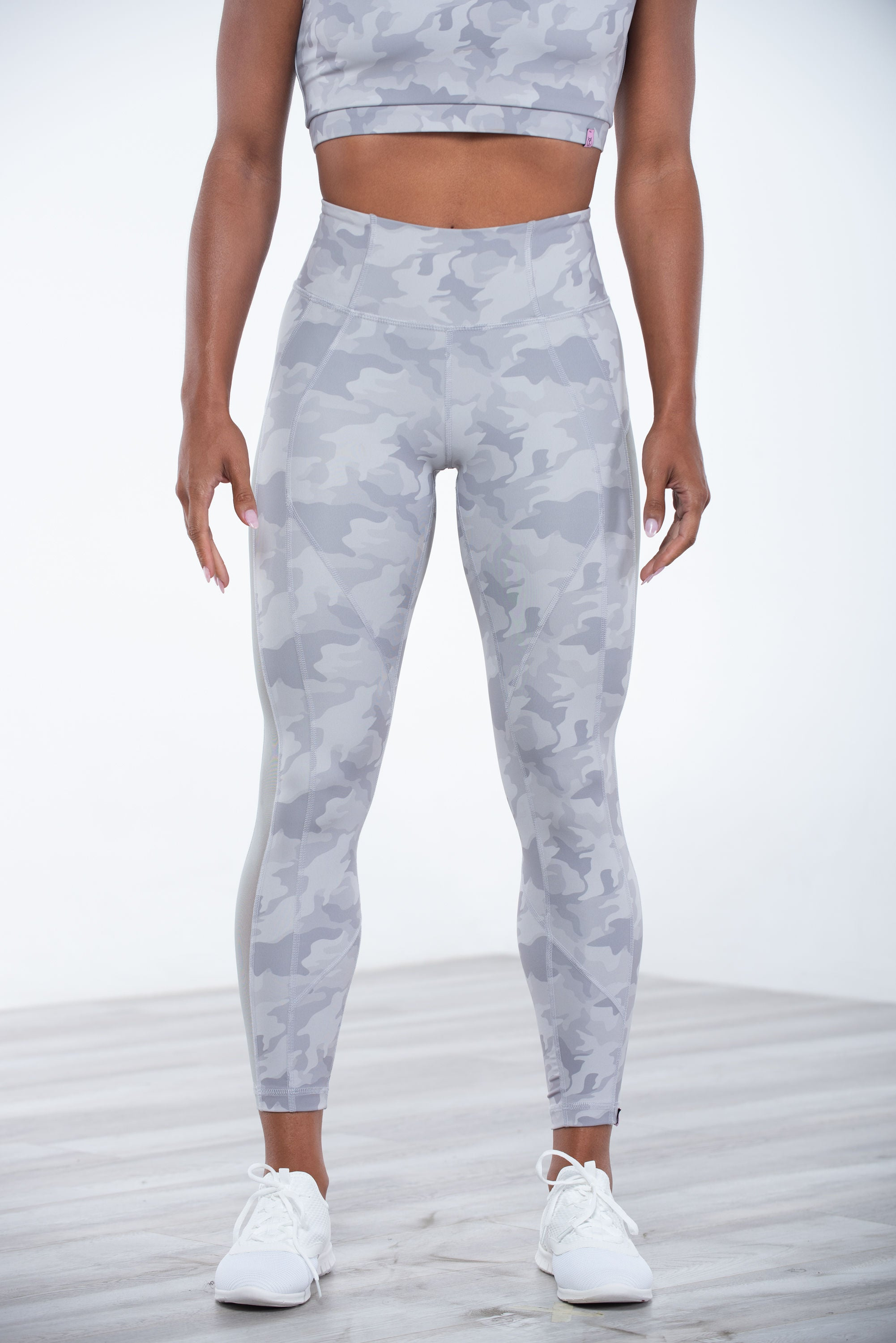 Wilma Legging Grey Camo - YCO ACTIVE