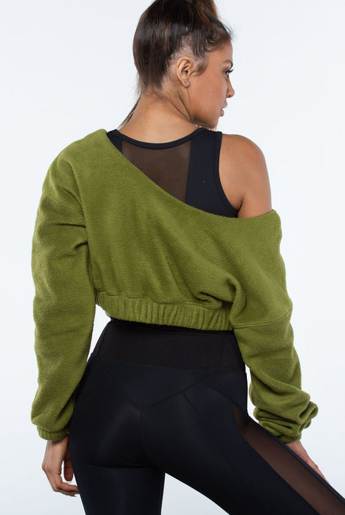 Misty Crop Sweatshirt - YCO ACTIVE