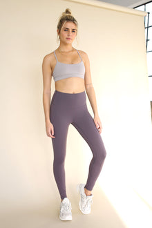 7/8 High-Rise Core Legging - Graphite