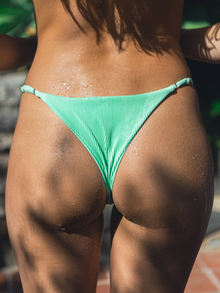 Ella Ribbed Adjustable Bottom - Pistachio