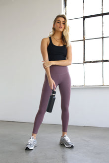 7/8 High-Rise Core Legging - Stormy Purple