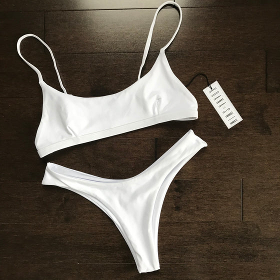 Gemma Bottom - Triple White