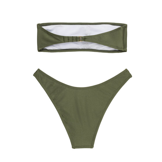 Beck Strapless Set - Khaki