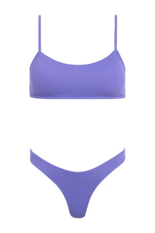 Piper Ribbed Set - Lavender