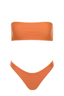 Beck Strapless Set - Burnt Orange