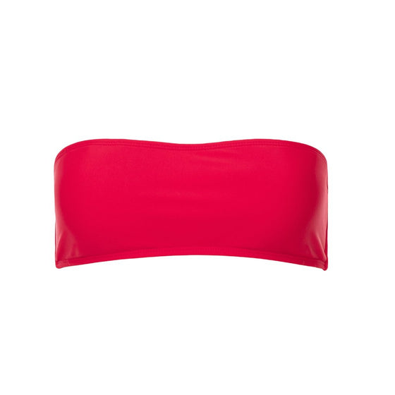 Beck Strapless Top - Red
