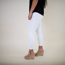 DEX White Cropped Jeans