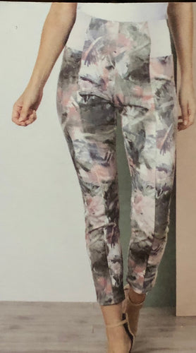 Floral Ankle Activewear Pants