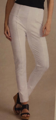 Simply Noelle White Ponte Straight Pant