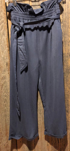 Dusty Blue Bag Pants