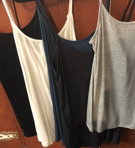 Mystree Jersey Cami Tank Top