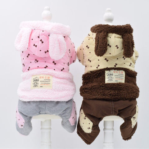 Small Dog cotton clothes Jumpsuits