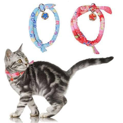 Cat Colth Printed  Collar