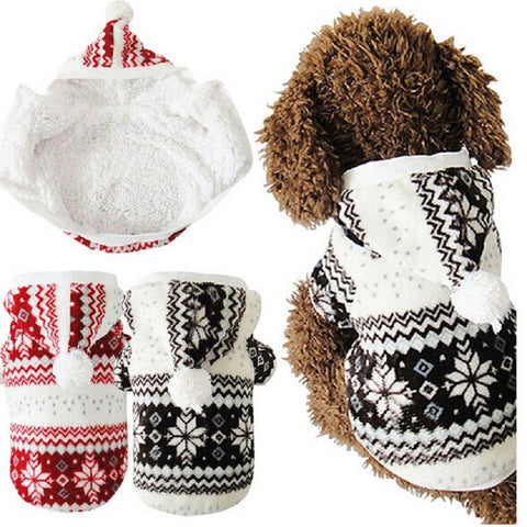 Soft Winter Warm Dog Clothes